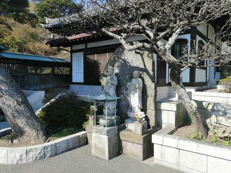 Kamakura / Japan - November, 11, 2019: Hase-dera temple (Hase-kannon)