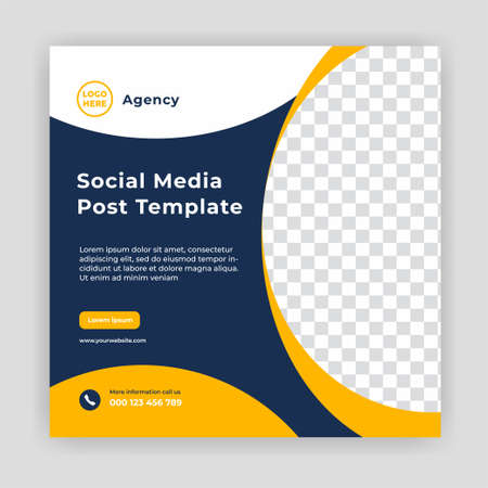 Illustration pour Modern Social Media banner template can be edited. Anyone can use this design easily. Promotional web banners for social media. Elegant sale and discount promo - Vector. - image libre de droit
