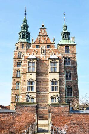 Rosenborg castle in Copenhag