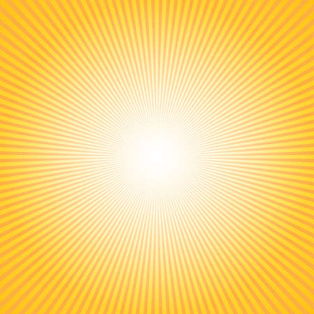 Illustration for Abstract background with sun ray. Summer vector illustration for design - Royalty Free Image