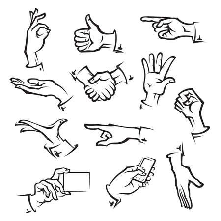 Ilustración de hands   - Imagen libre de derechos