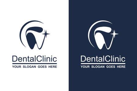 Ilustración de abstract dental icon collection for dental clinic - Imagen libre de derechos