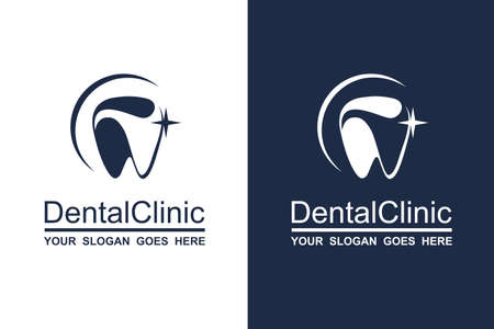 Illustration pour abstract dental icon collection for dental clinic - image libre de droit