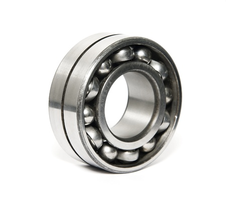Photo pour russian quality ball bearing isolated on white  - image libre de droit