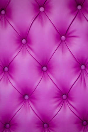 Photo pour Vertical background of pink leather furniture upholstery. Chesterfield Style - image libre de droit