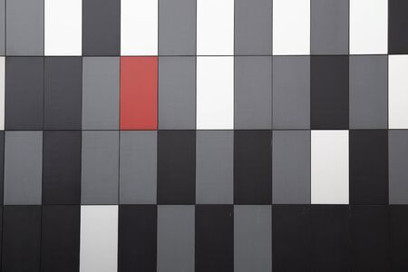 Photo for Cladding texture of building exterior - Royalty Free Image