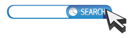 search bar illustration design over a white background