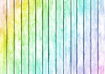 Multicolored Wood Panels