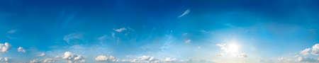 Seamless sky panorama  360 degrees