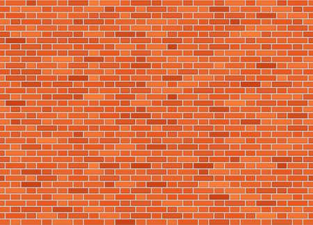 Ilustración de Vector seamless flemish bond brick wall texture - Imagen libre de derechos