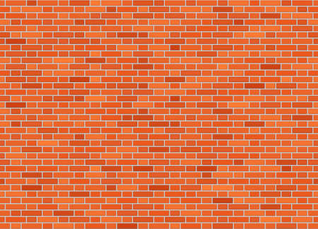 Illustration for Vector seamless flemish bond brick wall texture - Royalty Free Image