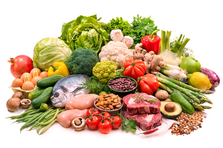 Photo for Balanced diet food - Royalty Free Image