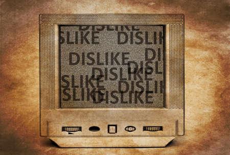 Dislike TV