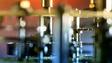 Photo pour Old Rusty Gears Close Up - image libre de droit