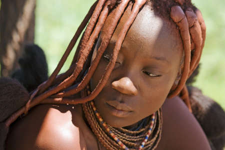 Portrait of Himba Woman