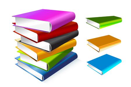Foto de Book 3d illustration isolated on white - Imagen libre de derechos
