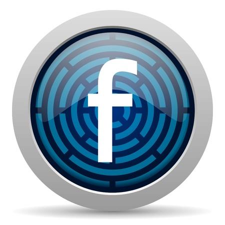 Photo pour F icon - image libre de droit