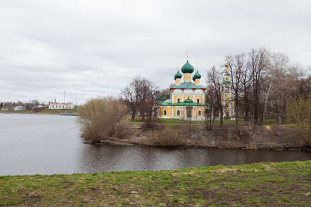 old Cathedral in the ancient town of Uglich