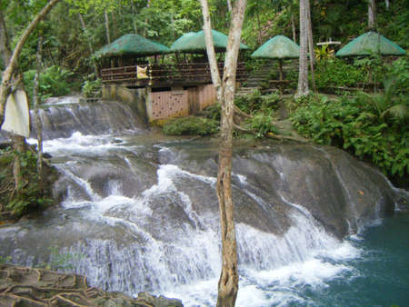 Waterfalls on Samal island, Philippines