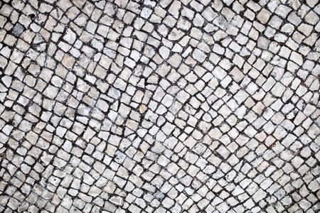 traditional portuguese street stone pavement Stone pavement texture