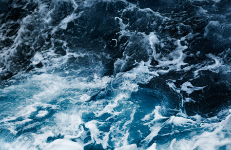 Photo pour Waves in ocean Splashing Waves - image libre de droit