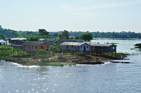 Manaus, BR - House on the Amazon river