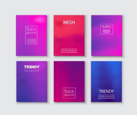 Illustration pour Abstract modern futuristic creative purple - image libre de droit