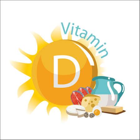 Illustration pour vitamin d illustration. - image libre de droit