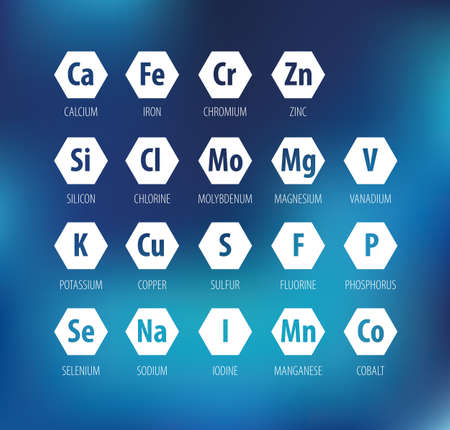 Minerals for human health.
