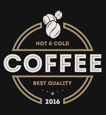 3a30ccb7650 Coffee shop vintage isolated label set vector illustration. Coffee club  symbol. Espresso