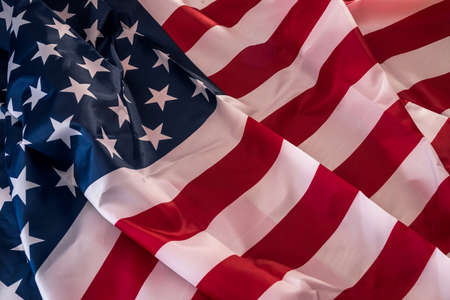 Photo pour Flag of United States of America as background - image libre de droit