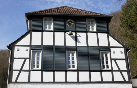 Old half-timber house, Bergisches Land, Germany