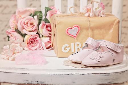 Photo pour baby shower decoration - image libre de droit