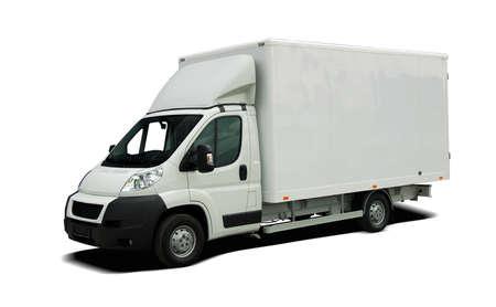Foto de Delivery van - Imagen libre de derechos
