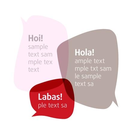 Illustration pour Bubbles.  Add your text - image libre de droit