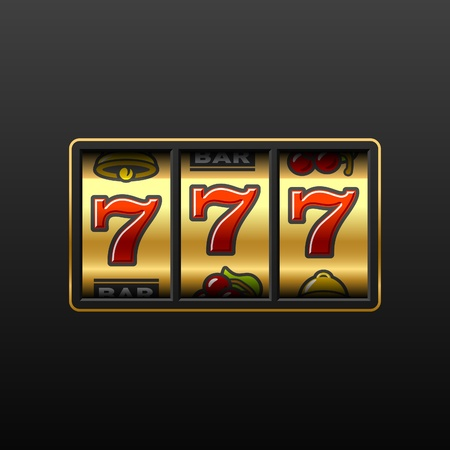 777 - Winning in slot machine