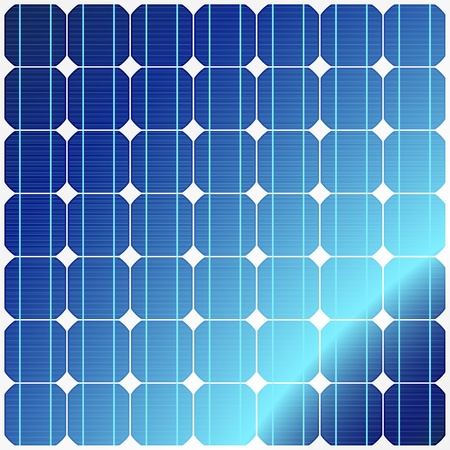 Reflection in solar panels