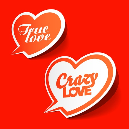 Crazy and True love bubbles