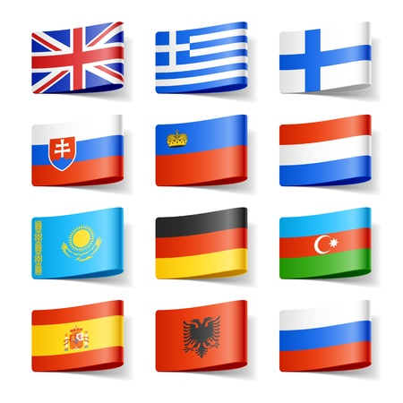 World flags  Europe