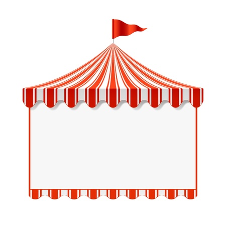 Illustration pour Circus advertisement background - image libre de droit