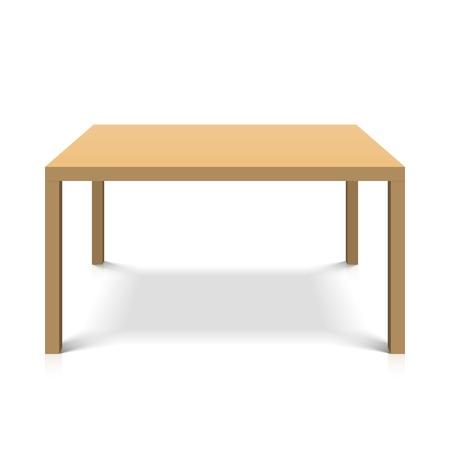 Illustration pour Wooden table - image libre de droit