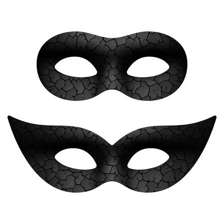 Illustration pour Masquerade eye mask - image libre de droit