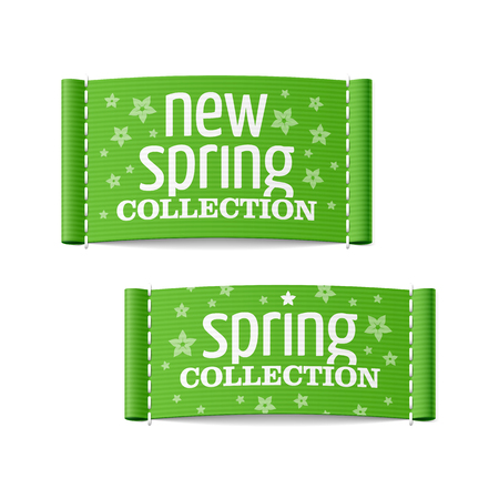 New spring collection clothing labels