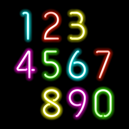 Neon numbers