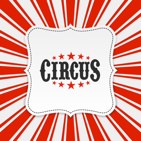 Circus poster background
