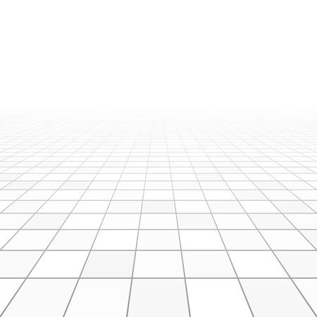 Illustration pour Floor tiles perspective - image libre de droit