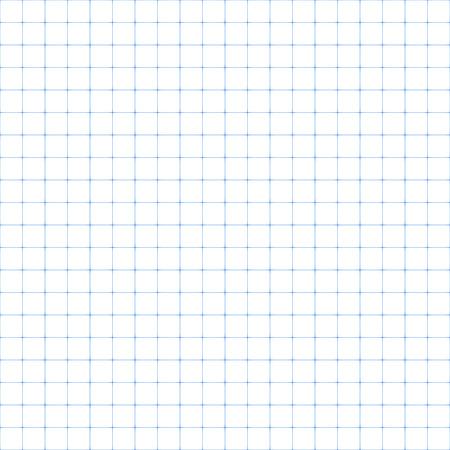 Illustration pour Squared paper, seamless illustration - image libre de droit
