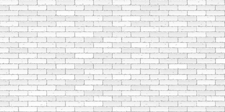 Illustration for White brick wall texture seamless illustration - Royalty Free Image