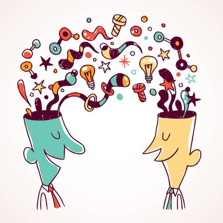 Exchange of ideas