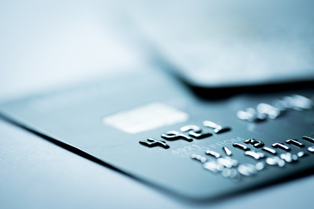 Photo pour Credit card online shopping payment - image libre de droit